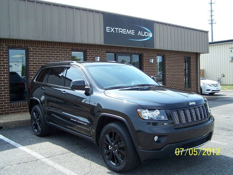 2012 Jeep Grand Cherokee Tint Richmond Mechanicsville